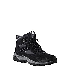 Lands' End - Black men's snow hiker boots