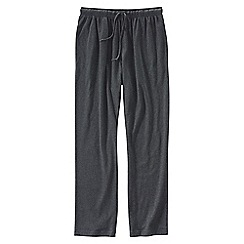 Lands' End - Grey men's jersey pj bottoms