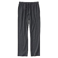 Lands' End - Grey men's jersey pj bottoms