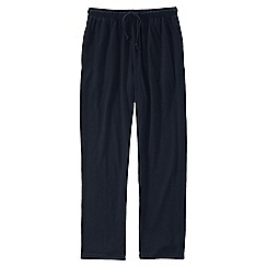 Lands' End - Blue men's jersey pj bottoms