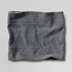 Lands' End - Grey men's thermacheck 100 fleece neckwarmer