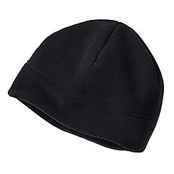 Lands' End - Black men's thermacheck 200 fleece hat