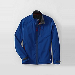 Lands' End - Blue men's soft shell jacket
