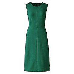 Lands' End - Green welt pocket shift dress