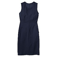 Lands' End - Blue welt pocket shift dress