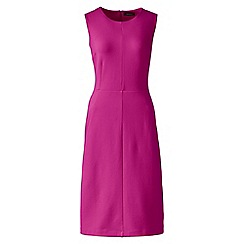 Lands' End - Pink welt pocket shift dress
