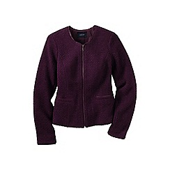 Lands' End - Red women's wool mix jacket