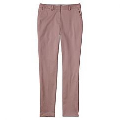 Lands' End - Pink women's slim leg stretch chinos