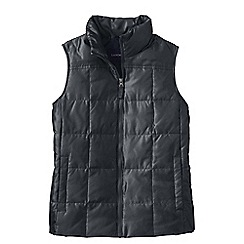 Lands' End - Grey shimmer down gilet