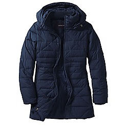 Lands' End - Blue women's chalet down parka