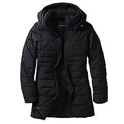 Lands' End - Black women's chalet down parka