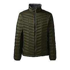 Lands' End - Green lightweight down jacket