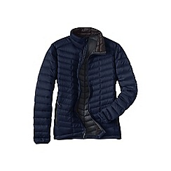Lands' End - Blue men's lightweight down jacket