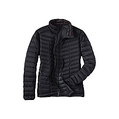 Lands' End - Black men's lightweight down jacket