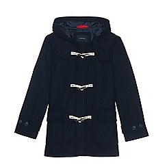 Lands' End - Blue boys' wool duffle coat