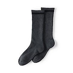 Lands' End - Grey thermal boot socks