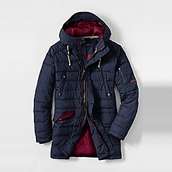 Lands' End - Blue men's city explorer parka