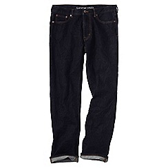 Lands' End - Blue men's 5 pocket denim regular fit