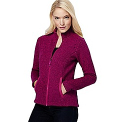 Lands' End - Pink women's everyday sweater fleece 200 jacket