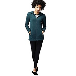 Lands' End - Blue women's everyday sweater fleece 200 parka