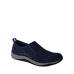 Lands' End - Blue women's wide everyday mocs light