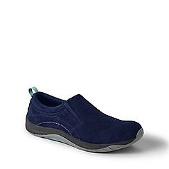Lands' End - Blue wide everyday mocs light