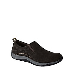 Lands' End - Brown women's wide everyday mocs light