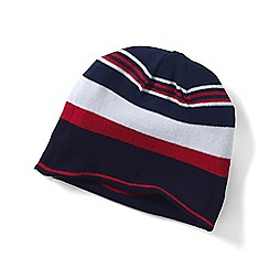 Lands' End - Boys Blue reversible beanie