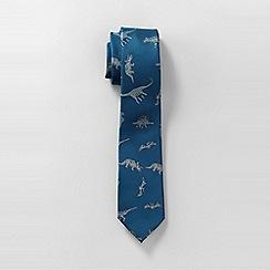 Lands' End - Blue boys' jacquard tie