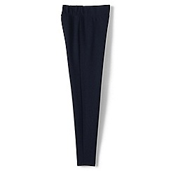 Lands' End - Blue women's ponte jersey leggings