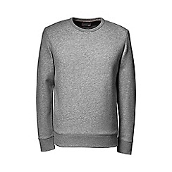Lands' End - Grey tall  serious sweats crew neck sweatshirt