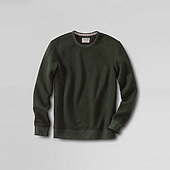 Lands' End - Green men's serious Sweatscrew neck Sweatsirt