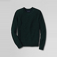 Lands' End - Green men's marled shaker sweater