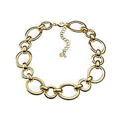 Lands' End - Gold equestrian link necklace