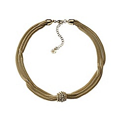 Lands' End - Gold mesh chain necklace