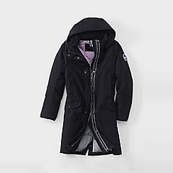 Lands' End - Black women's expedition down coat