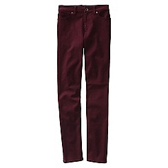 Lands' End - Purple women's coloured low rise slim leg jeans
