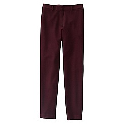 Lands' End - Purple ponte stretch ankle trousers