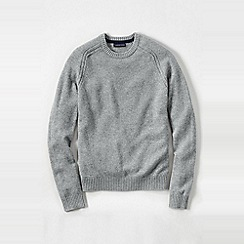 Lands' End - Grey lambswool sweater