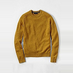 Lands' End - Yellow men's lambswool sweater