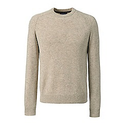 Lands' End - Beige lambswool sweater