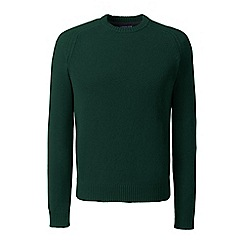 Lands' End - Green lambswool sweater