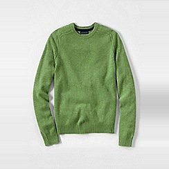 Lands' End - Green men's lambswool sweater