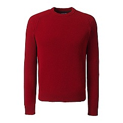 Lands' End - Red lambswool sweater