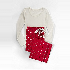 Lands' End - Red sleep set