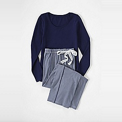 Lands' End - Blue women's sleep set