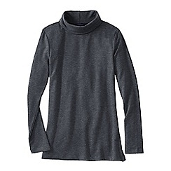 Lands' End - Grey women's roll neck tunic