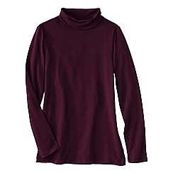 Lands' End - Red women's roll neck tunic
