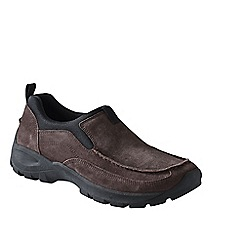 Lands' End - Brown men's everyday moccasins