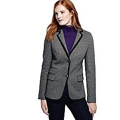 Lands' End - Grey luxe twill blazer
